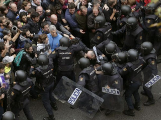 2017年10月1日バルセロナで起きていること