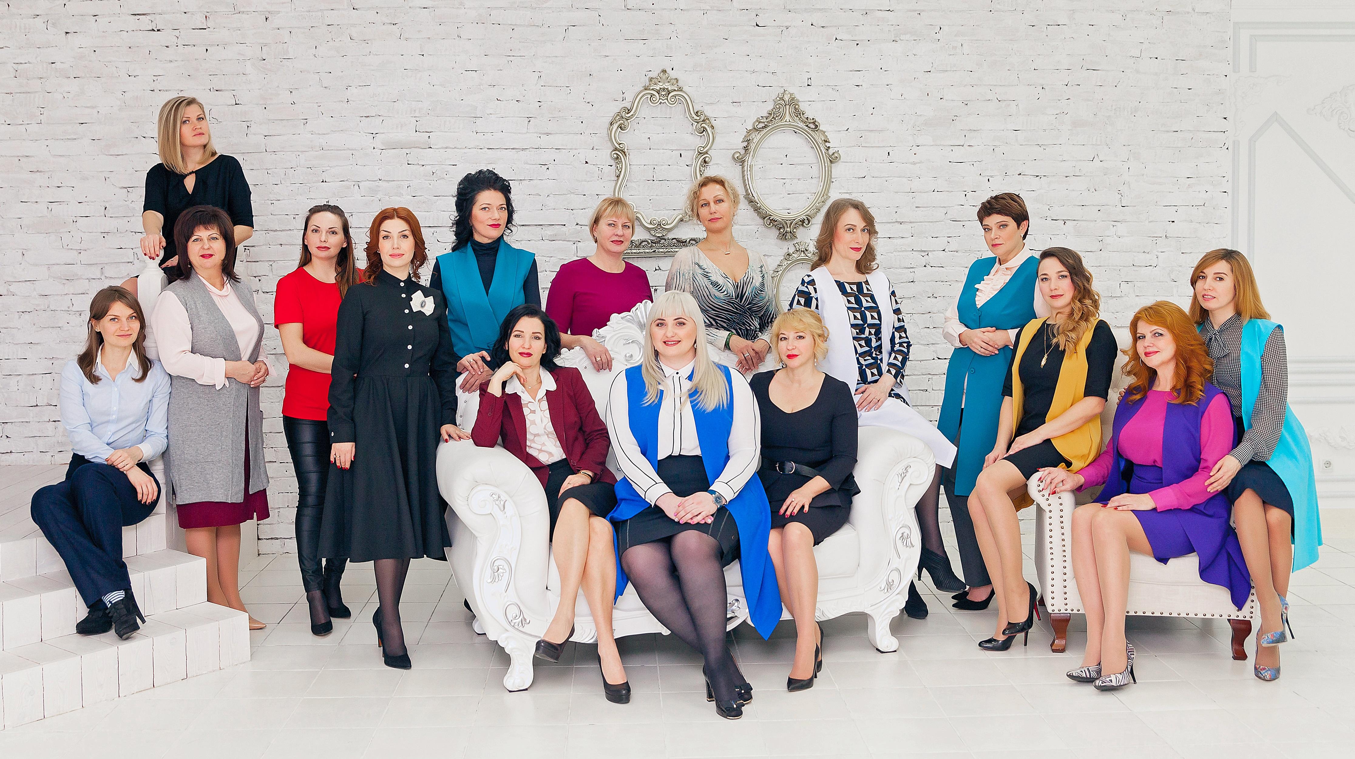 Женское предпринимательство в лицах