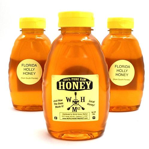 Raw Florida Holly Honey 100% Pure and Natural
