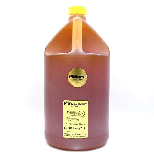 1 Gallon of Pure Raw Florida Wildflower Honey