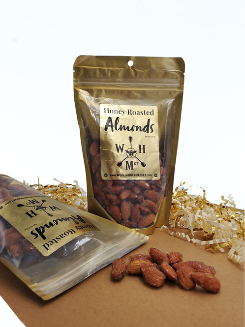 Honey Roasted Almonds 6.6 oz