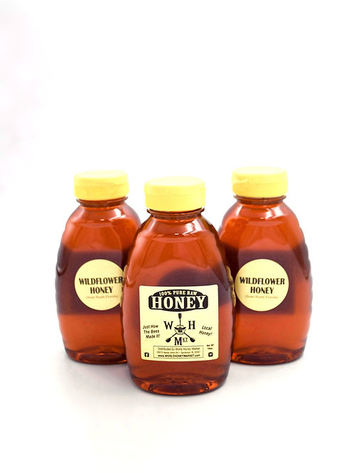 Raw Florida Wildflower Honey 100% Pure and Natural