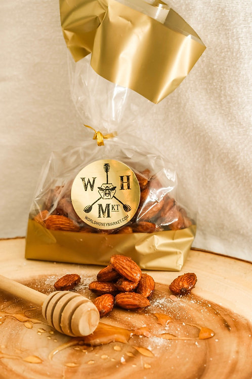 Honey Roasted Almonds 4.5 oz