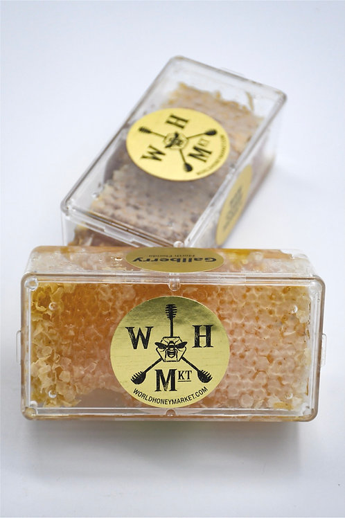 100% Natural Raw Honeycomb (Cassette, 8 oz)