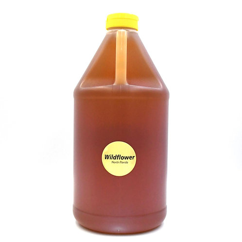 1/2 Gallon of Raw Wildflower Honey