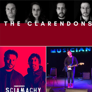 The Clarendons + Support