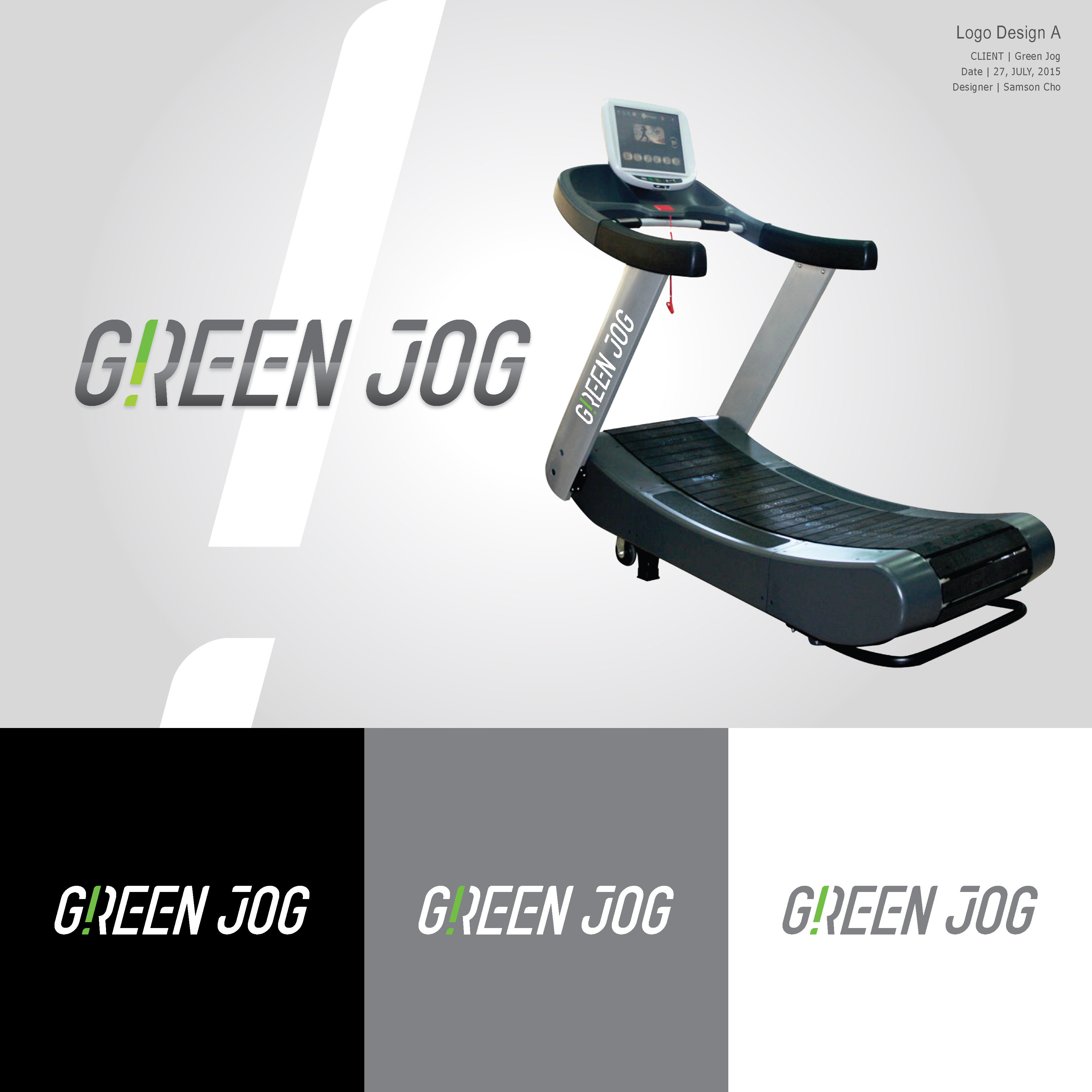 Greenjog Logo Design
