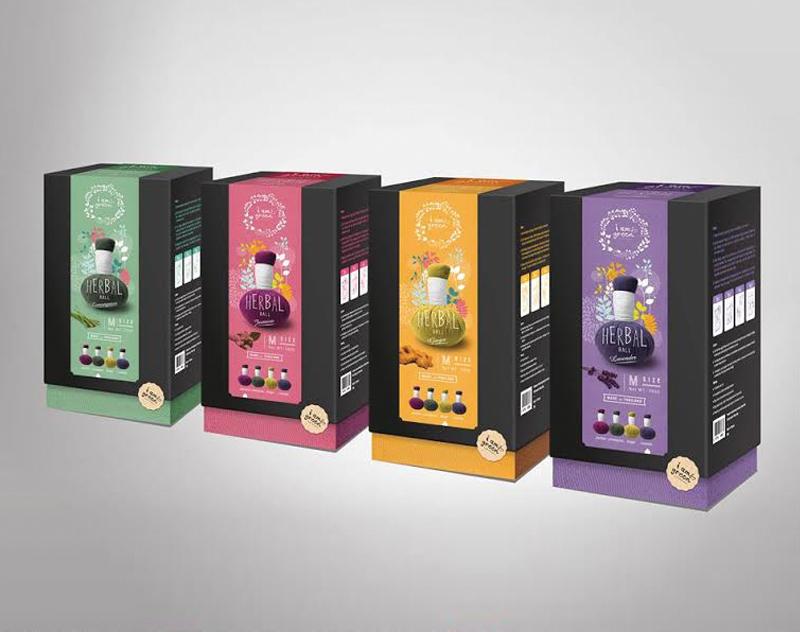 Herbal Ball Packaging Design