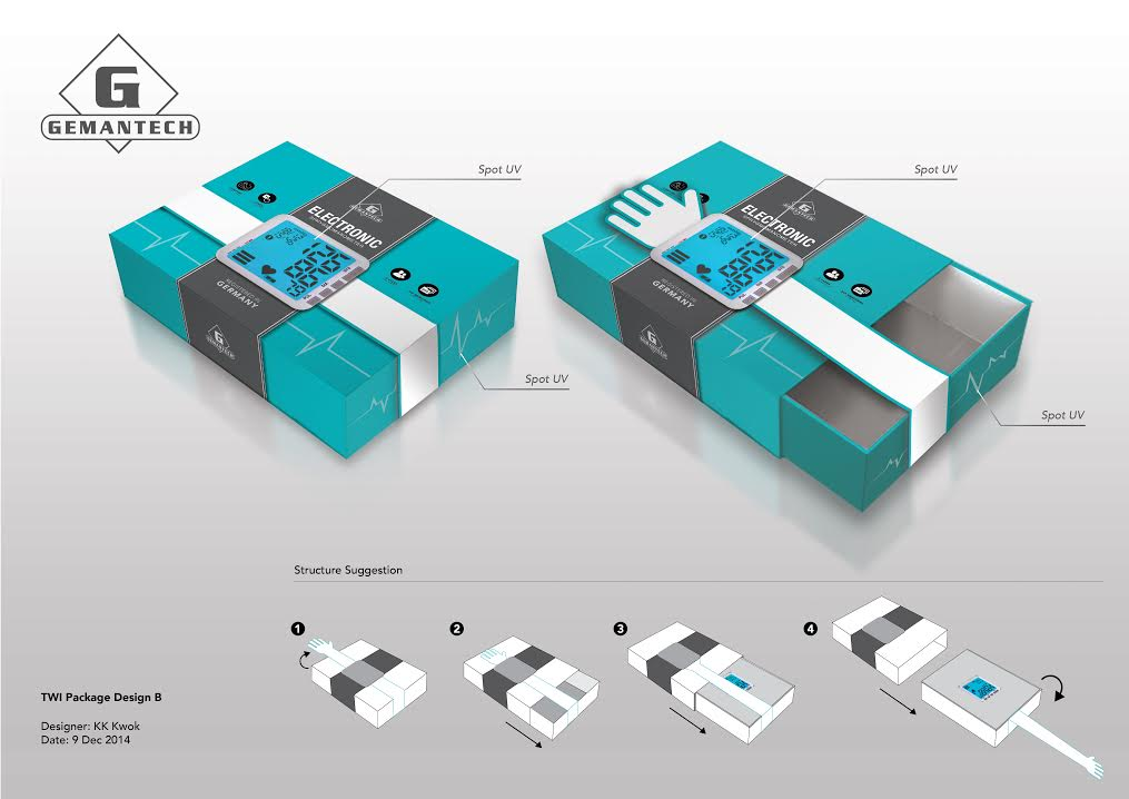 Sphygmomanometer Packaging Design