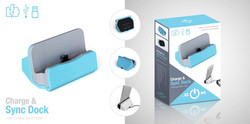 Charge & Sync Dock Packaging Design