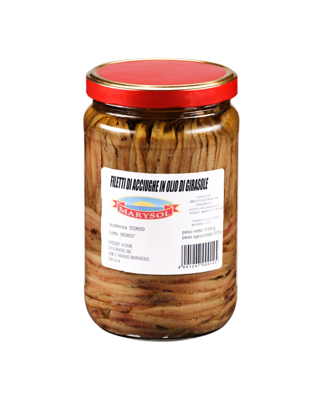 Filetti di Acciughe1700g