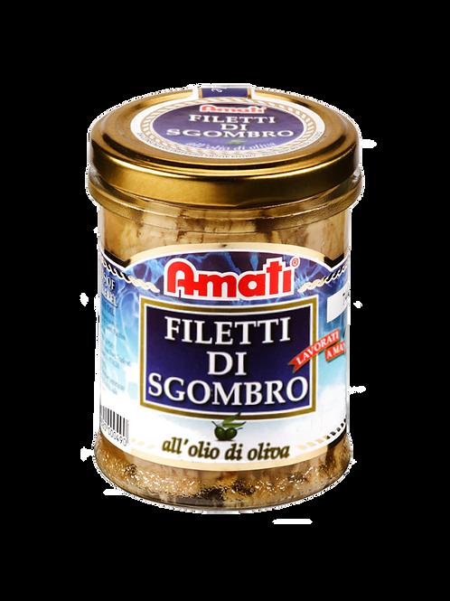 Filetti di Sgombro in Olio d'Oliva 200g