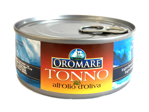 Tonno in Olio di Oliva160g | OROMARE