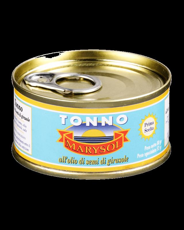 Filetti di Tonno 80g
