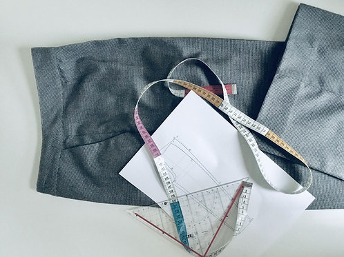 Workshop patroontekenen broek