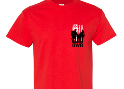 Operation Warrior RECONnect T-Shirt: RED