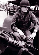 Dave Roever pre-injury,in Vietnam