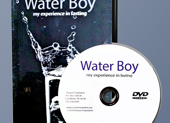 Water Boy: My Experience in Fasting DVD