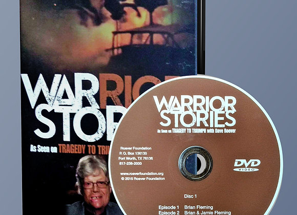 Warrior Stories DVD: 6 Disc Set