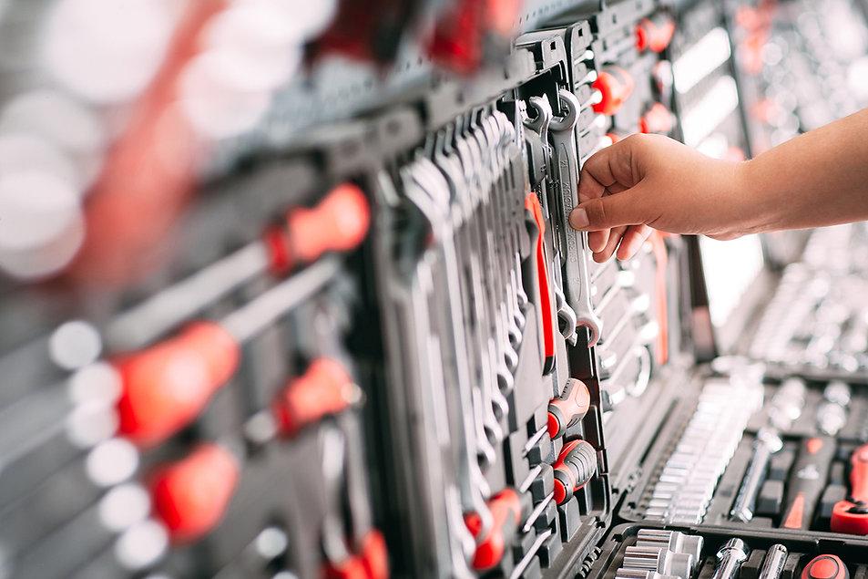 POWERRR machines & gereedschappen