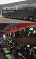 HITACHI bus op bezoek