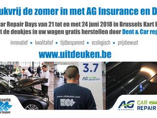 Only for pro's! DCR-Team gaat samen voluit met AG Insurance de deukjes te lijf.
