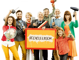 Vlaanderen best in recycleren
