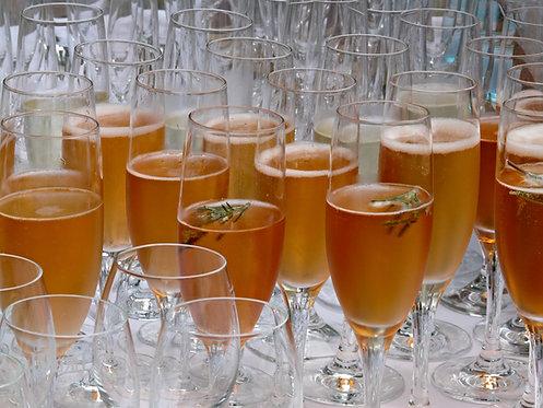 24 x Champagne flutes