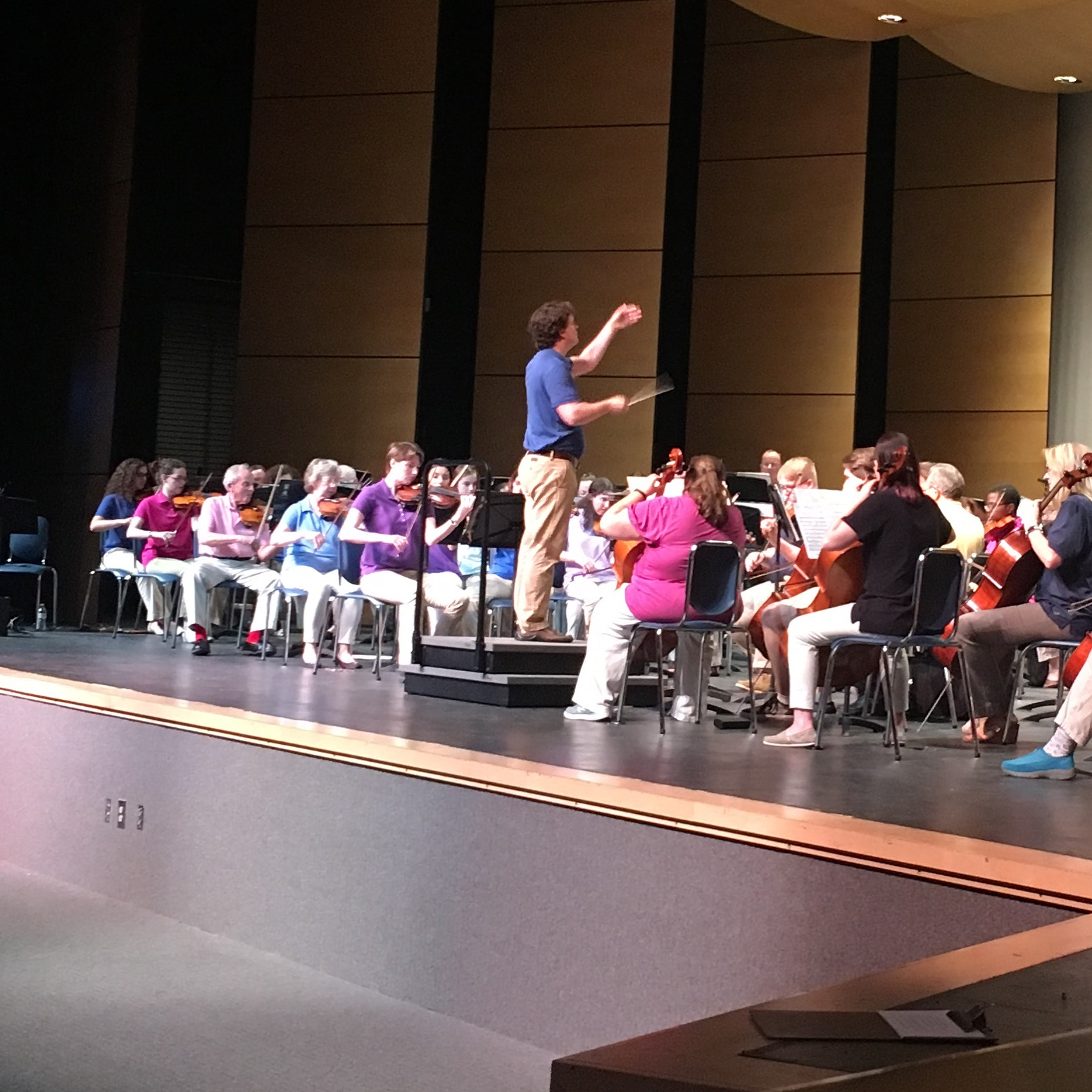 Conducting the Susquehanna Symphony