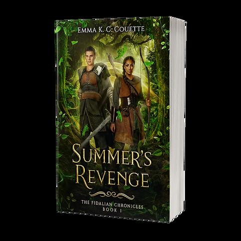 Summer's Revenge - 3d Transparent.png