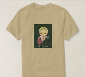 妖精の人魚Tシャツ