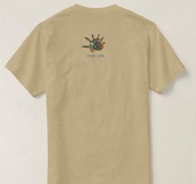 妖精の人魚Tシャツ 裏