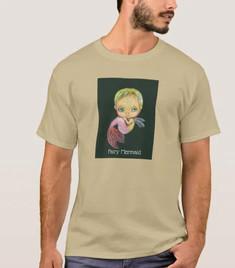 妖精の人魚Tシャツ 着衣イメージ