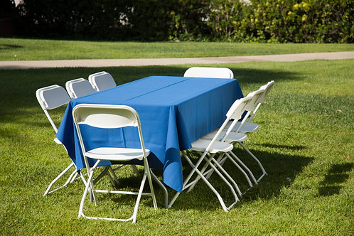 Long Tablecloth Polyester MID LENGTH