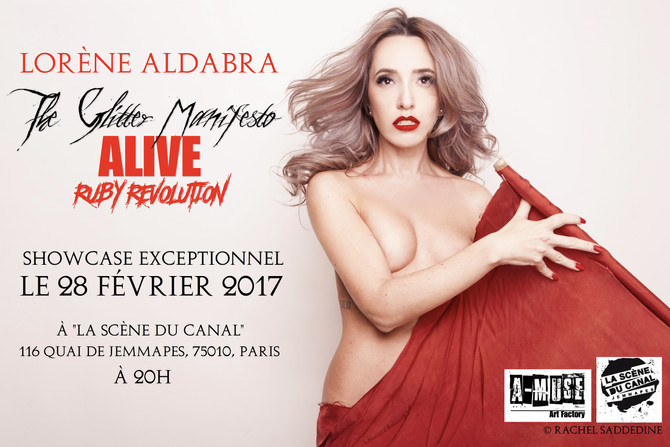 Lorène Aldabra en Showcase Live exceptionnel! //28/02/17//