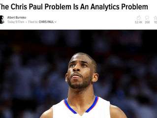 The Chris Paul Problem isn't that big a problem for analytics