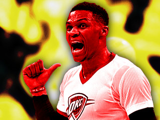 Yeah, Russell Westbrook should probably be MVP