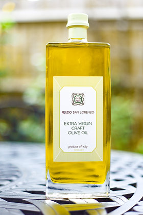 Extra Virgin Olive Oil - Luxury clear glass bottle