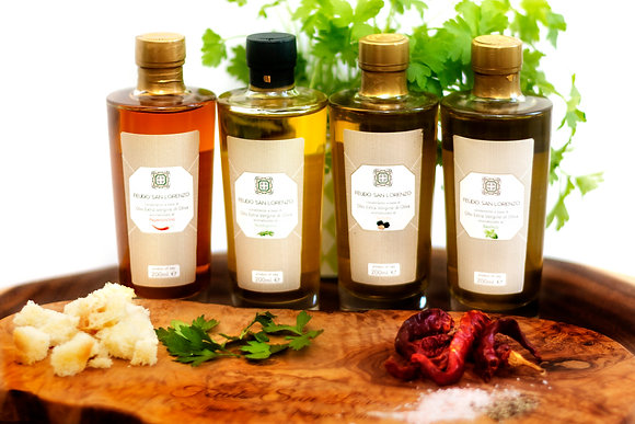 Flavoured Olive Oils - Glass bottles
