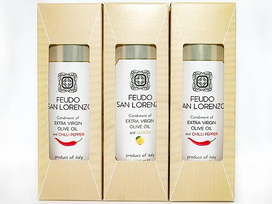 Flavoured Olive Oils - 250ml Tins