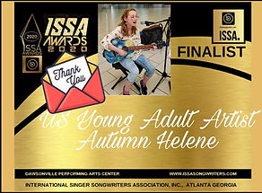 ISSA US Young Adult Artist of the Year