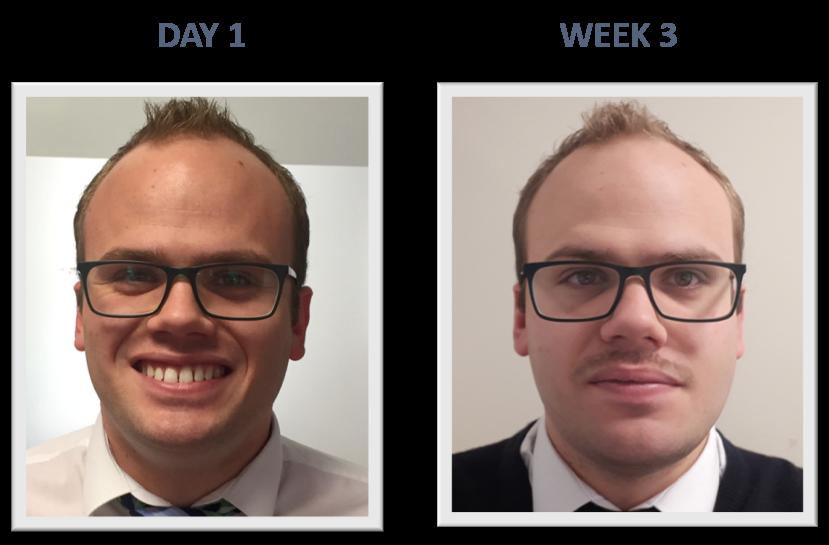Movember competitor: Jason