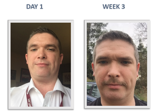 Movember competitor: Paul