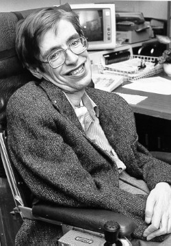Professor Stephen Hawking suffered with Motor Neuron Disease