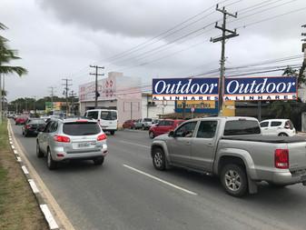 90 91 - Estrada do Coco - Km 4 - Em frente a Insinuante
