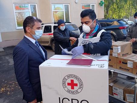 Вдячність Міжнародному комітету Червоного хреста