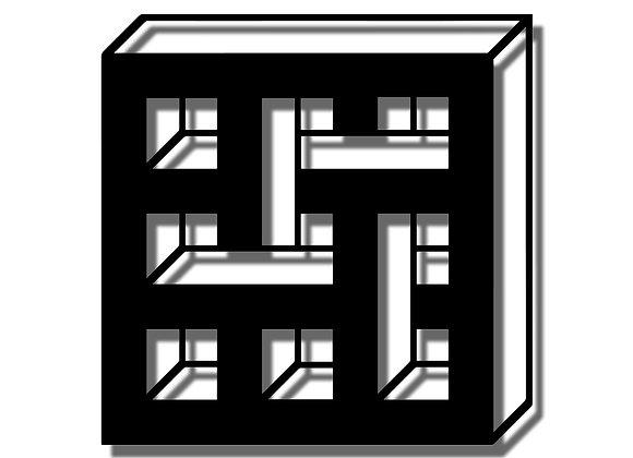 Isometric 3D Block