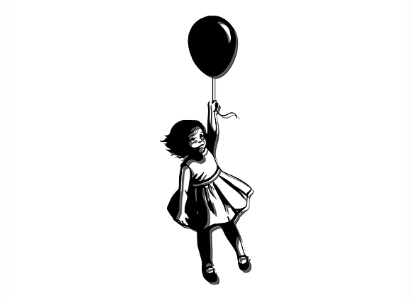 Balloon Girl - Front