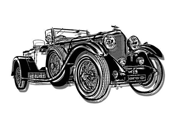 1931 Bentley 8 litre Tourer