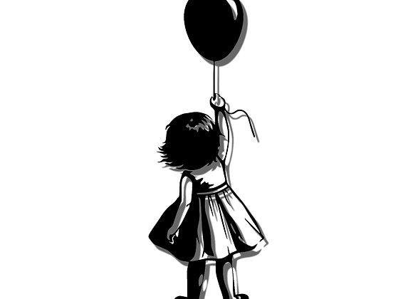 Balloon girl (rear)